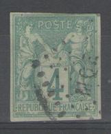 Colonies Générales:  N°25 Oblitéré MQE (Martinique)      - Cote 50€ - - Sage