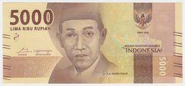 Indonesia NEW - 5000 5.000 Rupiah 2016 - UNC - Indonesia