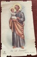 "Antico Santino Holy Card "" SAN GIUSEPPE  ""  AR 2062 - Religione & Esoterismo"