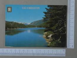 ANDORRA - LLAC D'ENGOLASTERS -  VALL'ANDORRA -   2 SCANS  - (Nº26832) - Andorre