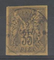 Colonies Générales:  N°45 Oblitéré ST PIERRE/MARTINIQUE      - Cote 45€ - - Sage