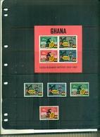 GHANA 25 COCOA RESEARCH INSTITUT 4 VAL + BF NEUFS A PARTIR DE 0.60 EUROS - Ghana (1957-...)