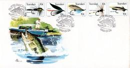 Transkei - 1982 Fishing Flies FDC # SG 99-103 , Mi 98-102 - Transkei