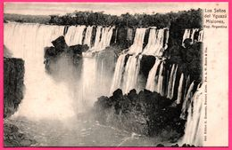 Argentine - Los Saltos Del Yguazu Misiones - Chute D'eau - Ed. R. ROSAUER N° 945 - Argentina