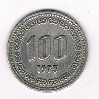 100 WON 1975 ZUID KOREA /8692/ - Korea, South