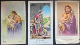 """Santino Holy Card """" S. GIUSEPPE PATRONO DEI LAVORATORI   """" Ed. GMI 274 - Religione & Esoterismo"""