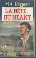 FLEUVE NOIR - ANGOISSE  N° 184  -   M.A. RAYJEAN  -  FANTASTIQUE / ANTICIPATION - Fleuve Noir