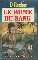 FLEUVE NOIR - ANGOISSE  N° 186  -   D.ROCHER  -  FANTASTIQUE / ANTICIPATION - Fleuve Noir