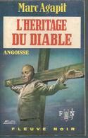 FLEUVE NOIR - ANGOISSE  N° 205  -   MARC AGAPIT  -  FANTASTIQUE / ANTICIPATION - Fleuve Noir