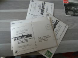 Lot De 6 Theme Aviation P P Port Paye  Pharmacie Medicament Transfusine - Poststempel (Briefe)