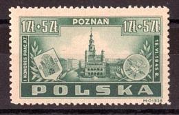 Pologne - 1945 - N° 447 - Neuf * - Congrès Des Employés Des PTT à Poznan - Cote 30 - 1944-.... Republic