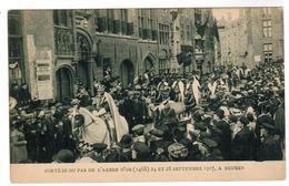 Brugge,  Bruges, Cortège Du Pas De L'Arbre D'Or 24 Et 28 Septembre 1907 (pk52257) - Brugge