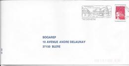 HAUT RHIN 68  -  RIEDISHEIM   -  FLAMME RIEDISHEIM LE VILLE A LA CAMPAGNE CITE HOF..  -  1998  -  THEME SITES - Postmark Collection (Covers)