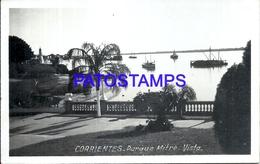105137 ARGENTINA CORRIENTES PARQUE MITRE & SHIP POSTAL POSTCARD - Argentina