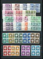 DDR Lot Gest,Dauerserien ,u,s,w #dx3682 - [6] République Démocratique