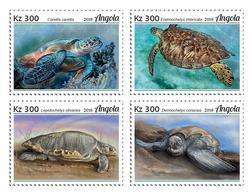 Angola 2018 Turtles. (104a) - Turtles
