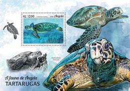 Angola 2018 Turtles. (104b) - Turtles