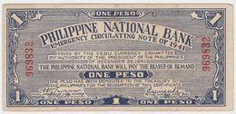 Philippines P S215 - 1 Peso 1941 - VF - Philippines
