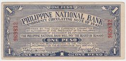 Philippines P S215 - 1 Peso 1941 - VF - Filippine