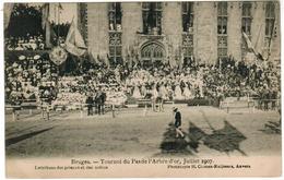Brugge,  Bruges, Tournoi Du Pas De L'Arbre D'Or Juillet 1907  (pk52261) - Brugge