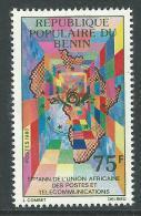 Bénin  N° 514  X  5ème Anniversaire De L'Union Africaine Des Postes Et Télécommunications  Trace De Charnière Sinon TB - Bénin – Dahomey (1960-...)