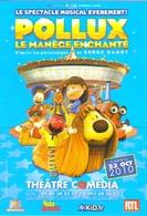"""Carte Postale """"Cart'Com"""" - Pollux - Le Manège Enchanté (Serge Danot) - Théâtre Comédia - Theatre"""