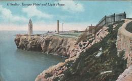 ***  GIBRALTAR ***  GB - Espagne - GIBRALTAR  Europa Point And Light Hous - TTB Written - Gibraltar