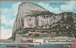 ***  GIBRALTAR ***  GB - Espagne - GIBRALTAR   The Galeries - TTB Written - Gibraltar
