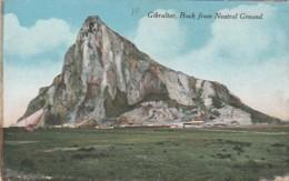 ***  GIBRALTAR ***  GB - Espagne - GIBRALTAR  Rock From Neutral Ground  - TTB Written - Gibraltar