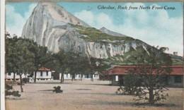 ***  GIBRALTAR ***  GB - Espagne - GIBRALTAR  Rock From Front Camp   - TTB Written - Gibraltar