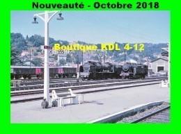 AL 537 - Locos 141 F Et 141 TA En Gare - TULLE - Corrèze - SNCF - Tulle