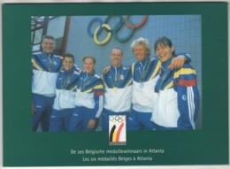 Belgique. Médailles Olympique Sans Puce Dans Son Présentoir N° P471. Tirage 2000 Ex. Carte N° 0998 - Belgique