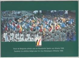 Belgique. Jonathan N'Senga, Sans Puce Dans Son Présentoir N° P448. Tirage 1500 Ex. Carte N° 0487 - Belgique
