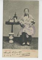 ASIE - CHINE - CHINA - SHANGHAI - Nourrice Chinoise - Chinese Nurse - Chine