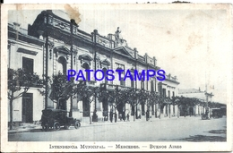 105147 ARGENTINA MERCEDES BUENOS AIRES INTENDENCIA MUNICIPAL SPOTTED POSTAL POSTCARD - Argentina