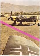 """1939/1945  *  LA LUFTWAFFE *   AVION JUNKERS JU87B  """" STUKA """"  EN ATTENTE POUR UNE MISSION EN GRECE * - 1939-1945: 2ème Guerre"""