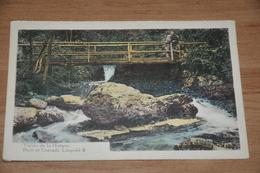 6690-  VALLEE DE LA HOEGNE,  PONT ET CASCADE LEOPOLD II / ANIMEE - Spa