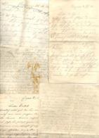 Guerre 14/18 - Lot De 5 Lettres D'un Soldat Allemand à Ses Parents Habitant EUPEN - Guerre 14/18 (nod1) - 1914-18