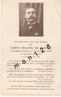 FAIRE PART DECES 21/11/1939 DU COMTE DULONG DE ROSNAY DECEDE AU CHATEAU DE SPOIR - Décès