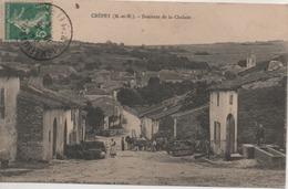 CREPEY  DESCENTE DE LA CHALADE - France