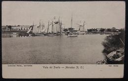 HC Pre 1906 - URUGUAY Rio Negro MERCEDES - VISTA DEL PUERTO - Edit.: LASCANO Hnos -  SCARCE  UNUSED POSTCARD - Uruguay