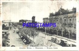 105152 ARGENTINA MERCEDES BUENOS AIRES AVENIDA MITRE SPOTTED POSTAL POSTCARD - Argentina