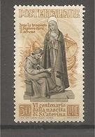 Italia - F.bollo Nuovo Valore Da 30 Lire: Santa Caterina Da Siena - 1948 * G - 1946-.. Republiek