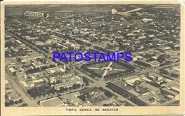 105157 ARGENTINA BOLIVAR BUENOS AIRES VISTA AEREA & PUBLICITY GENIOL POSTAL POSTCARD - Argentina
