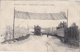 Oeully  Double Ponts Camouflès Sur L Aisne - France