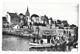 Cpsm: 29 ROSCOFF (ar. Morlaix) Le Port, Vedettes De L'Ile De Batz (Voitures, 403 Et 203 Peugeot, Phanhard) 1961  N° 1826 - Roscoff