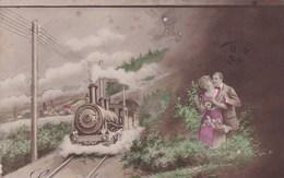 EN ATTENDANT LE TRAIN (dil349) - Couples