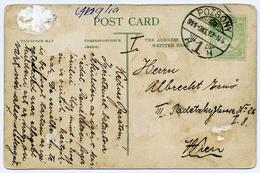 POSTMARK : POZSONY 1919 / LONDON - CHARING CROSS - Hungary