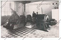 Très Rare CPA LORMES (58) : Dynamo De L'électricité - Lormes