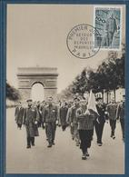 Thème Deuxième Guerre Mondiale - Libération - Document - Guerre Mondiale (Seconde)